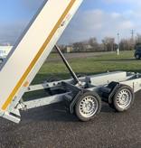 Eduard Geremde Eduard achterwaartse kipper - 310x160 cm - 2700 kg bruto laadvermogen - elektrisch, extern laden - 63 cm laadvloerhoogte - inclusief oprijplaten