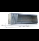 Eduard 606x200x160 cm - schuifzeil compleet - grijs