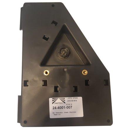 Aspock Aspock Earpoint 1 - links - connector aansluiting