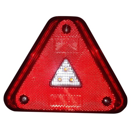 Aspock Aspock Agripoint - links - LED - 180x140x56 mm - inclusief kentekenverlichting