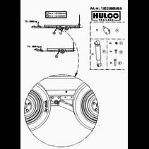 Hulco MEDAX/TERRAX - as 2 - 1800 kg
