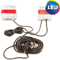 Set magneet 7,5 meter LED - 7 polig