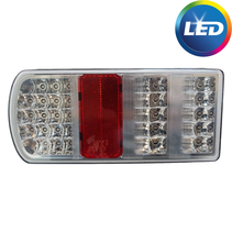 Achterlicht links connector LED 228x106x55 mm