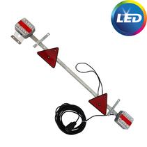 LED lichtbalk 110 > 160 cm - 7 polig - 7,5 meter