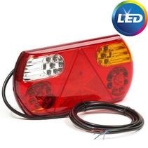Achterlicht rechts 32 LEDs 296x145x45 mm