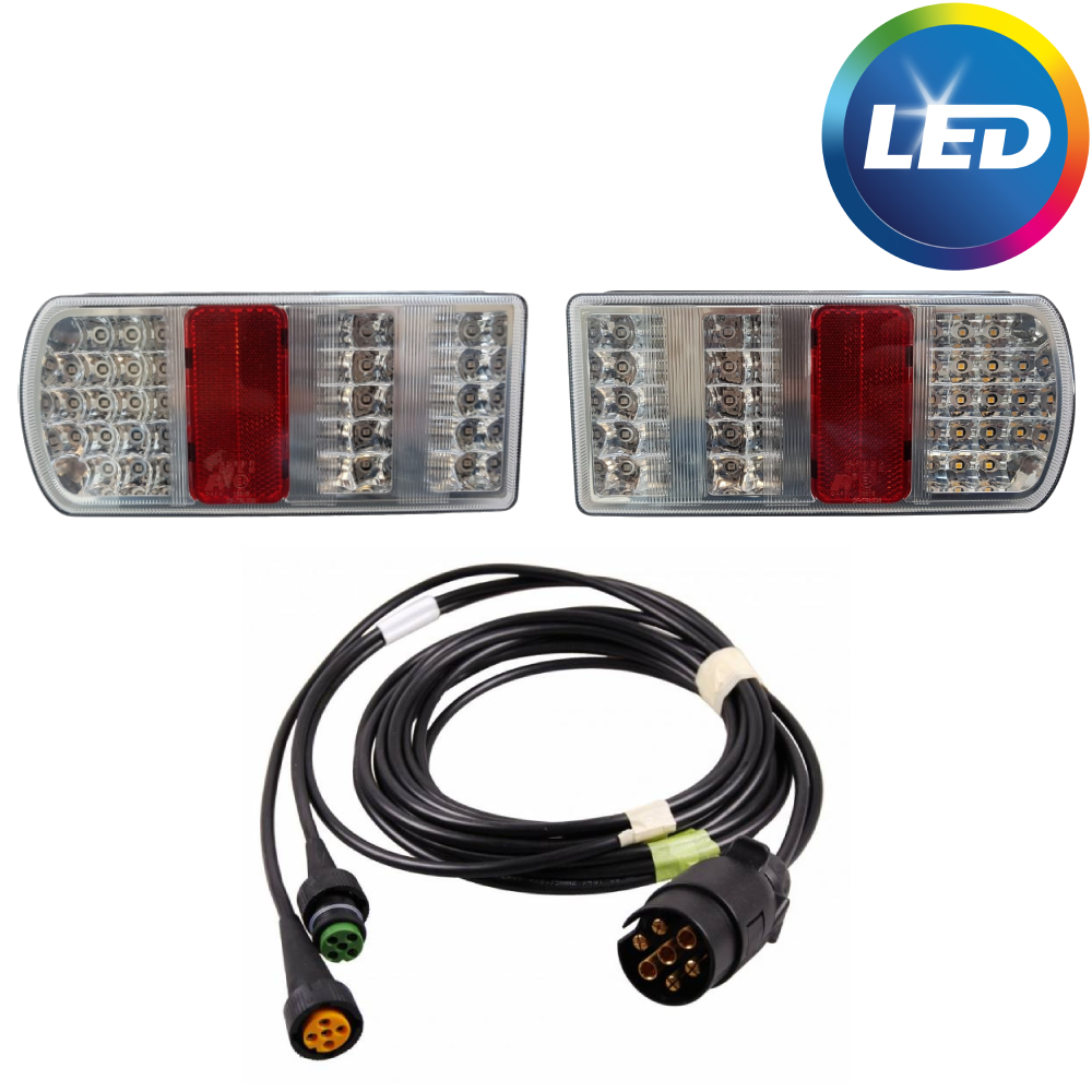 AWD LED verlichtingsset met 4 meter hoofdkabel