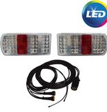 AWD LED verlichtingsset met 7 meter hoofdkabel inclusief aftakkingen voor markeringsverlichting