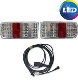 Aspock LED set met 6 meter hoofdkabel - 13 polig