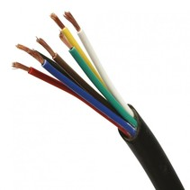 Kabel 7-aderig (7x1,5 mm²) per meter