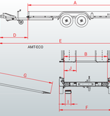 Anssems Anssems AMT 2000 ECO - 2000 kg bruto laadvermogen - 400x188 cm laadoppervlak - geremd