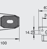 Aspock Flexipoint 50 cm DC-kabel op houder