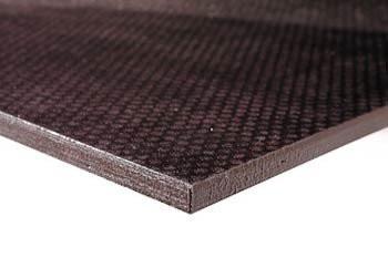Eduard Anti-slip betonplex vloerplaat aanhanger 2500x1250x15mm - donkerbruin