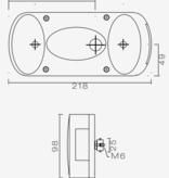 Aspock Aspock Midipoint 2 verlichtingsset met 5 meter hoofdkabel - 7 polig
