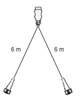 6 meter lange Aspock hoofdkabel - 13 polig - 5 polige connectoren - Plug&Play