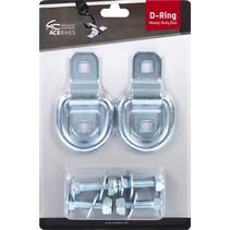 D-ring - 2 stuks - heavy duty duo