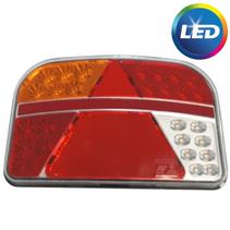Achterlicht links - 8P connector - LED