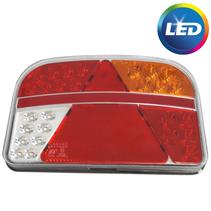 Achterlicht rechts - 8P connector - LED