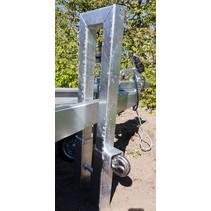 antidiefstal- parkeerpaal - geschikt voor v-dissels