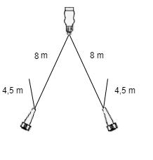 Aspock Multipoint 3 verlichtingsset - 8 meter hoofdkabel - 13 polig - inclusief voorgemonteerde markeringsverlichting