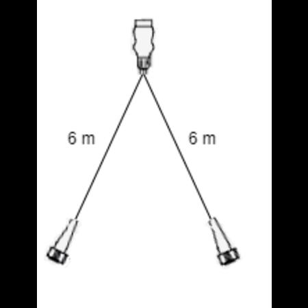 Aspock Aspock Multipoint 3 verlichtingsset - 6 meter hoofdkabel - 13 polig