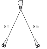 Aspock Aspock Multipoint 3 verlichtingsset - 5 meter hoofdkabel - 13 polig
