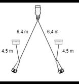 Aspock Aspock hoofdkabel - 6,4 meter lang - 13-polig - voorzien van 5-polige connectoren - inclusief voorgemonteerde markeringsverlichting