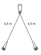 4,5 meter lange Aspock hoofdkabel - 13 polig - 5 polige connectoren - Plug&Play