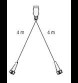 Aspock Aspock hoofdkabel - 4 meter lang - 7-polig - voorzien van 2x 5-polige connector