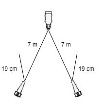 LED verlichtingsset met 7 meter hoofdkabel inclusief aftakkingen voor markeringsverlichting