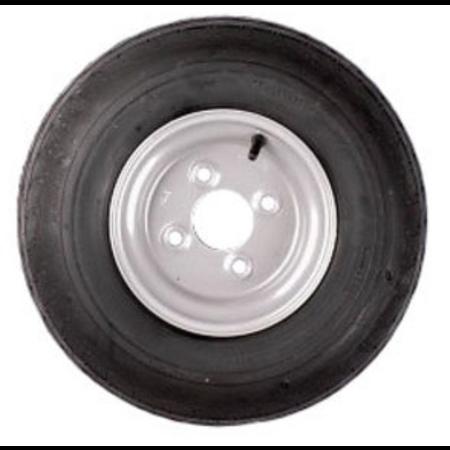 Compleet 8 inch wiel - 5.70/5.00-8 band + velg - opel steek: 4x100 - 6PR - 412 kg - 60 mm naafdiameter
