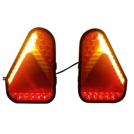 Aspock Aspock Earpoint LED links - inclusief mistlamp - 146x219x52,5 mm