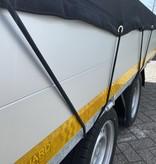 Premium gaasnet - 300x250 cm - inclusief elastiek rondom - UV bestendig - net voor aanhanger