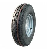 AWD Compleet 10 inch wiel - 5.00-10 band + velg - opel steek: 4x100 - 6PR - 440 kg - 60 mm naafdiameter