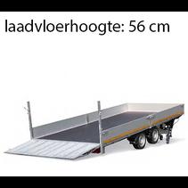 406x200 cm - 3000 kg - elektrisch + afstands