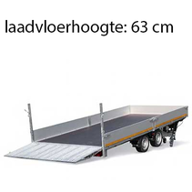 406x200 cm - 3500 kg - elektrisch