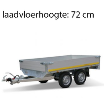310x160 cm - 2000 kg - 30 cm borden