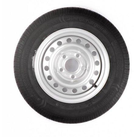 AWD Compleet 13 inch wiel - 145/70R13  band + velg - steek: 4x130 - 425  kg -  85 mm asgat/naafdiameter