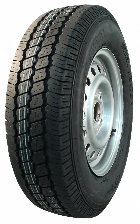 AWD Compleet 13 inch wiel - 175R13  band + velg - opel steek: 4x100 - 650  kg -  57 mm asgat/naafdiameter