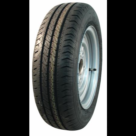 AWD Compleet 13 inch wiel - 185/70R13  band + velg - steek: 4x130 - 530  kg - 85 mm asgat/naafdiameter