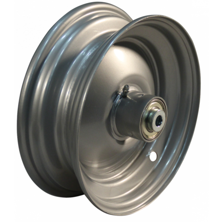 AWD Losse 8 inch WESTFALIA velg - 2.50x8 - ET0 - inclusief kogellager - staal - grijs