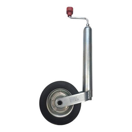 AL-KO Neuswiel Compact Alko, rond diameter 48 mm, stalen velg met massief rubber wiel