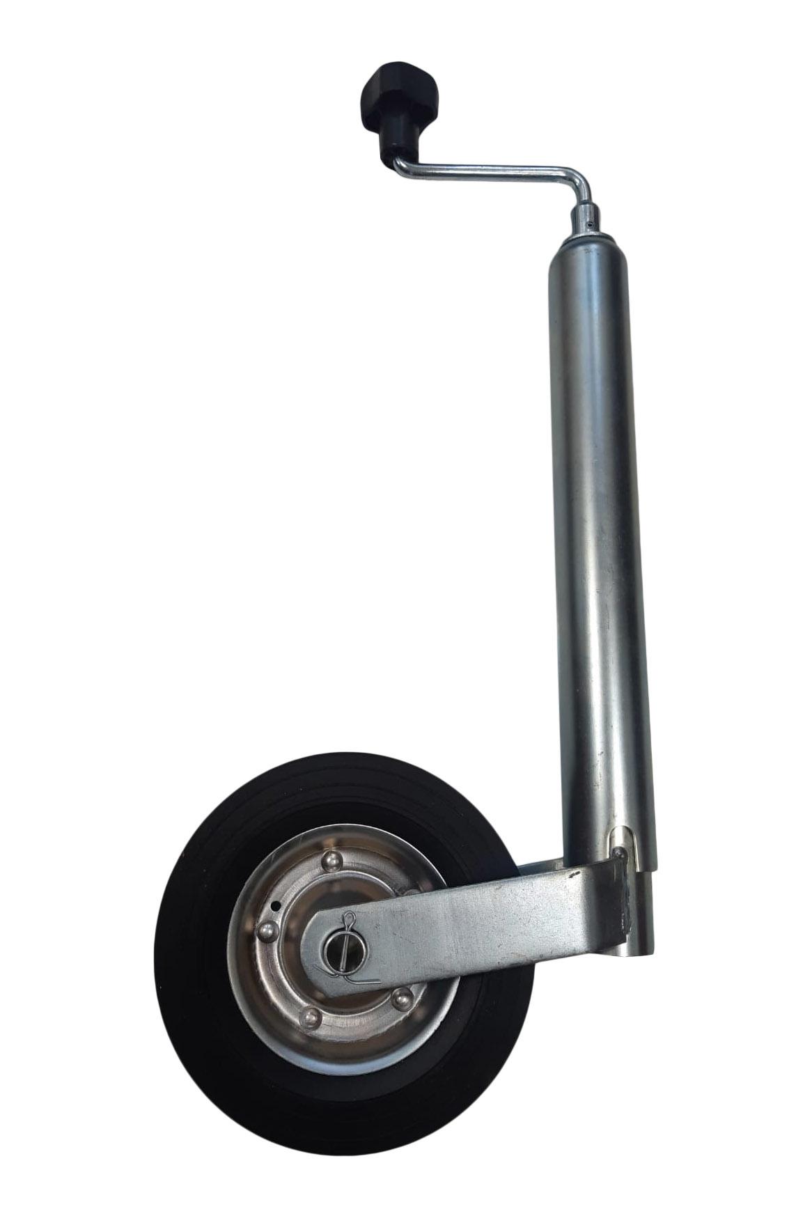 AWD Neuswiel voor aanhangwagen/trailer - rond 48 mm - stalen velg