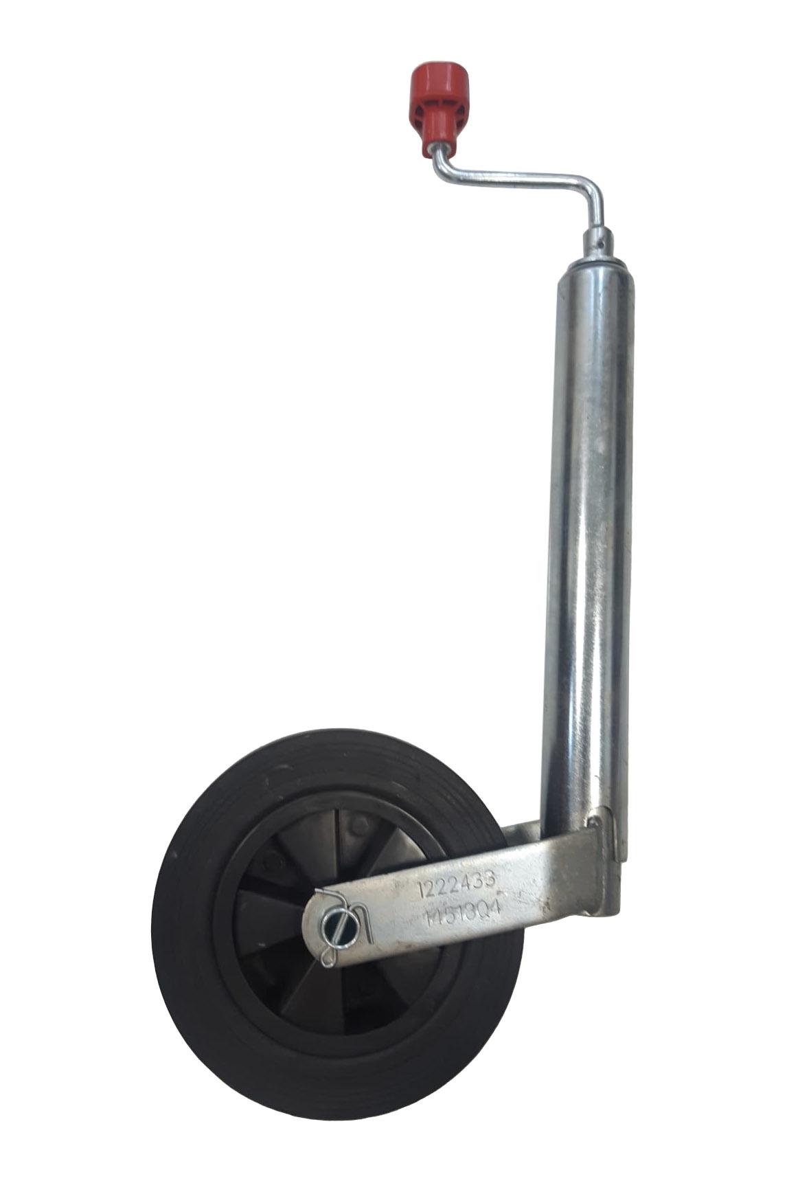 Neuswiel Compact Alko, rond diameter 48 mm, kunststof velg met massief rubber wiel