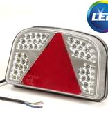 LED achterlicht met 56 LEDs - rechts - 244x149x48 mm