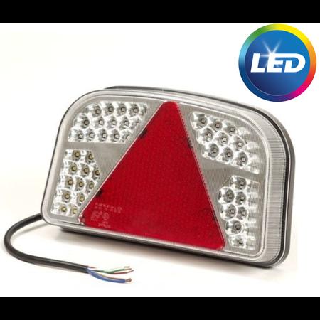 AWD LED achterlicht met 56 LEDs - rechts - 244x149x48 mm