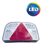 Aspock LED achterlicht rechts met alle functies- 55 leds - 244x149x48 mm