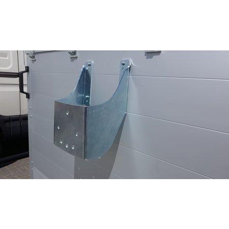 Anssems Anssems GTT 2500 VT3 HT gesloten aanhanger - 2500 kg bruto laadvermogen - 301x151x153 cm laadoppervlak - geremd - inclusief deksel en achterklep