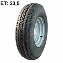 Wiel 5.00-10 (4x100) 450kg 8PR - naaf 60 mm - ET 23,5