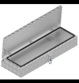 De Haan De Haan Box HM - 900x320x150 mm - waterdichte en stofdichte aluminium traanplaat disselkist  - voorzien van spansluiting