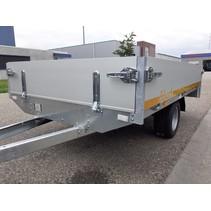 230x145 cm - 750 kg - 30 cm borden 195/55R10